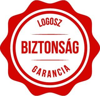 Biztonsági garancia a Logosznál